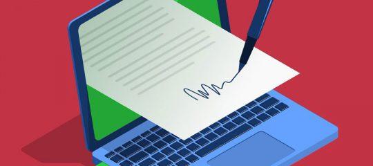 Signer des documents